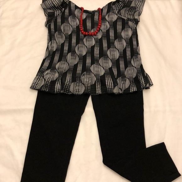 SHARAGANO Pants - SHARAGANO BLACK STRETCH DRESS PANTS